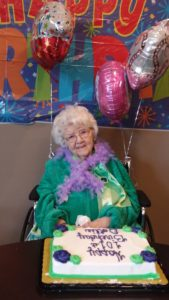 mildred bard 101st birthday celebration